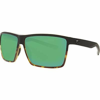 Costa Rincon Two Tone Green Mirror Lens Unisex Sunglasses RIN181OGMGLP*Open Box