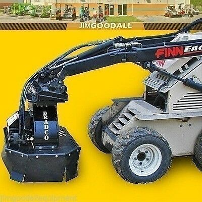 Stump Grinder For Mini Skid Steer Loaders7 Depthbradco Fits Vermeer 3999