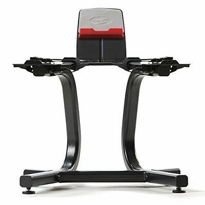 Dumbbell Stand with Media Rack & Teflon Grip Cover fits SelectTech 552 Dumbbells Teflon Handle Cover
