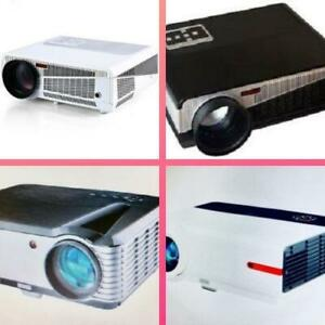 Weekly Promo! HIGH QUALITY HOME THEATER LED SMART PROJECTOR , starting from $349!