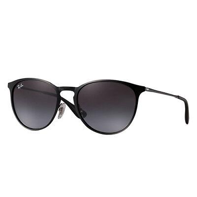 Ray-Ban RB3539 54mm Erika Sunglasses (Metal Black/Grey Gradient)