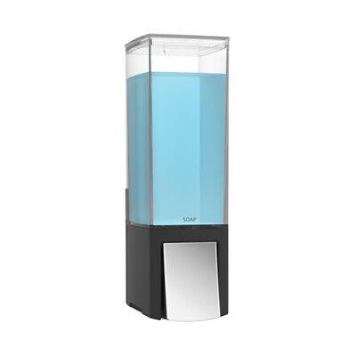 Clever I Seifenspender Wandmontage Seife Bad Spender Soap Dispenser schwarz - Bad-spender