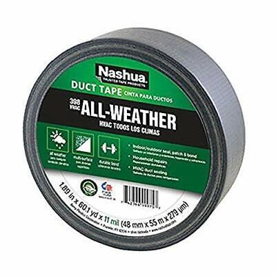 Nashua 398 Polyethylene Coated Cloth Professional Grade Duct Tape 55 M Length...