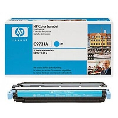 Original HP Toner 645A C9731A cyan für LaserJet 5500 5550 B-Ware