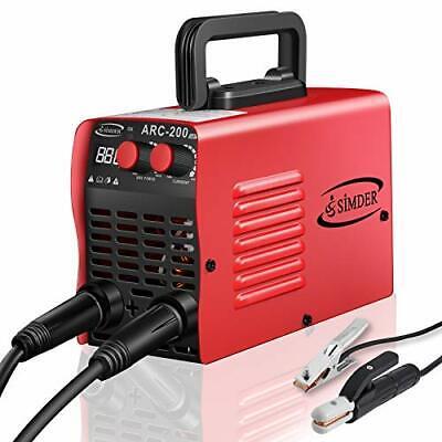 Arc Welder 110v 200a Welding Machine Igbt Inverter Dc Mini Electric Red