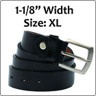 Leather Black Size XL Belts for Men