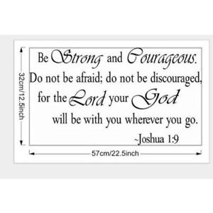**2 Brand New Large Bible Quote Wall Decals *see add for details