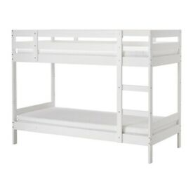 MYDAL N bnk bd frm 90x200 white, IKEA Exeter As-Is, Was £145 #BargainCorner