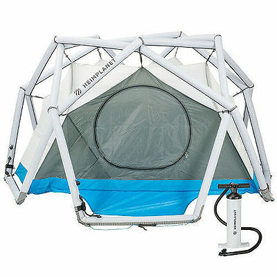 Heimplanet The Cave Inflatable Tent backpacking hiking camping  new with Pump