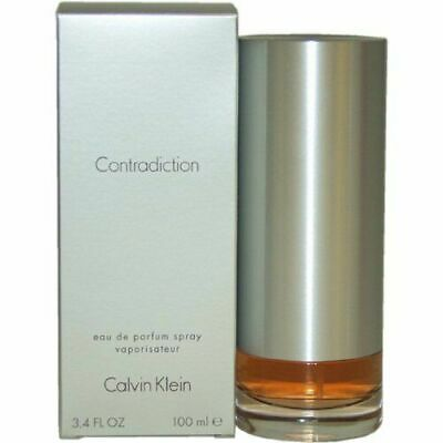 CONTRADICTION * Calvin Klein * Perfume for Women * 3.3 / 3.4 oz edp NEW IN BOX