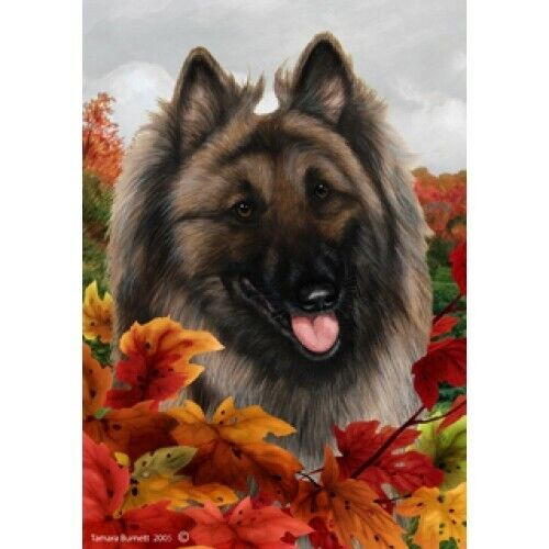 Fall House Flag - Belgian Tervuren 13083