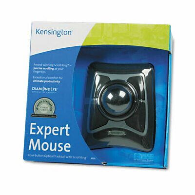 Kensington Expert Mouse 64325 Trackball - Optical - Cable - 1 Pack - USB, -