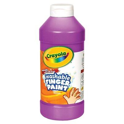 16 Oz Finger Paint (Crayola Washable Finger Paint - Violet (16 oz. Plastic Bottle) )