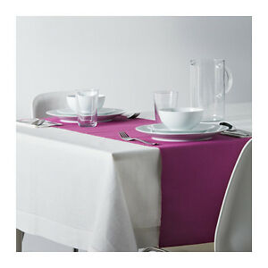 2 chemins table Marit ikéa ikea 14'' X 51'' mauve prune