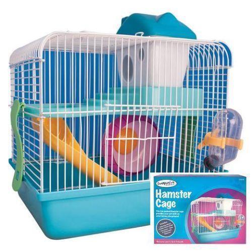 small hamster cage ebay. Black Bedroom Furniture Sets. Home Design Ideas