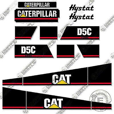 Caterpillar D5c Series Iii Dozer Decal Kit Equipment Decals Series 3