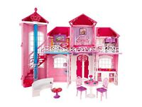 Barbie Malibu house. Campervan and bratZ cars