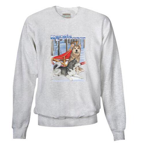 Alaskan Malamute Comfort Fleece Shirt