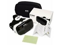 VR Glasses Virtual Reality Headset with Trigger/120 Large View Angle plus carry bag