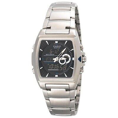 Casio Men's EFA120D-1AV Ana-Digi Edifice Thermometer Bracelet Watch