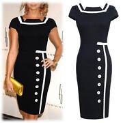 Ladies Knee Length Dress Size 14