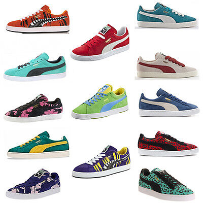 Puma Suede Stepper States Classic Chemical Comic Tropicalia Eco Trainers Unisex
