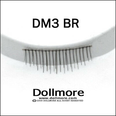BJD OOAK Doll eyelashes Dollmore Middle BK 301 Dollmore