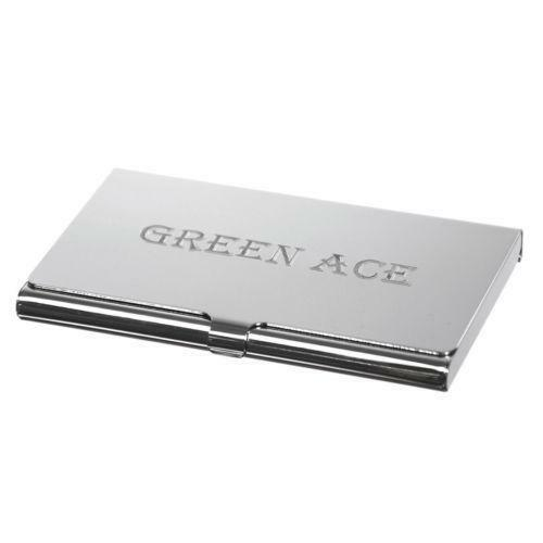 Personalized business card case ebay for Unique business card cases