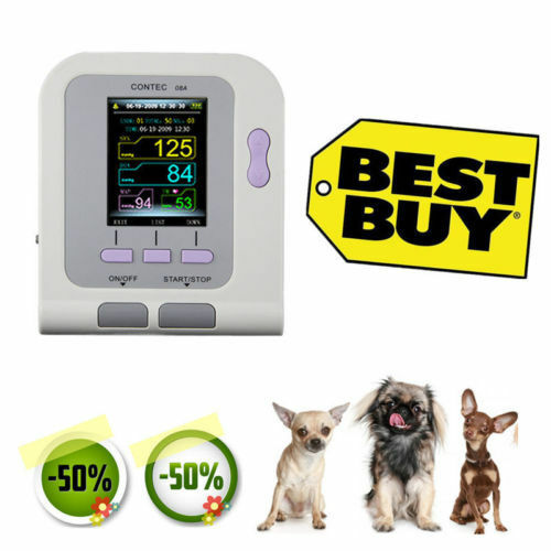 Vet Veterinary OLED digital Blood Pressure&Heart Beat Monitor NIBP CONTEC08A,FDA