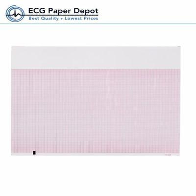 Ecg Ekg Thermal Recording Paper Mortara Compatible Z-fold Rolls 12 Pads Per Case