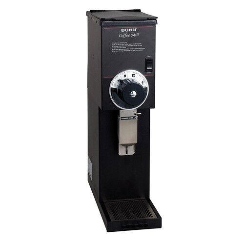 Coffee Bean Grinder - 3 lb. Hopper Capacity - Black Finish