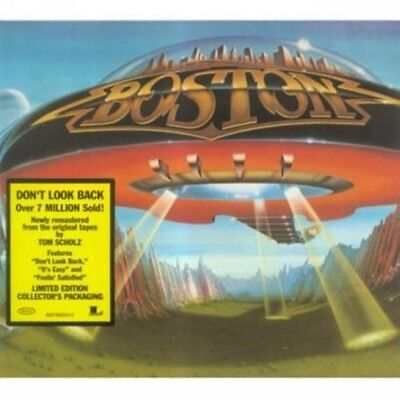 Boston   Dont Look Back  New Cd  Germany   Import