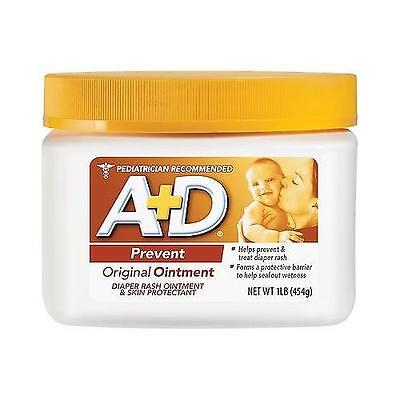 Windel Salbe (A+D Original Salbe Glas, Windel Rash und Universell Einsetzbar Skincare Formula)