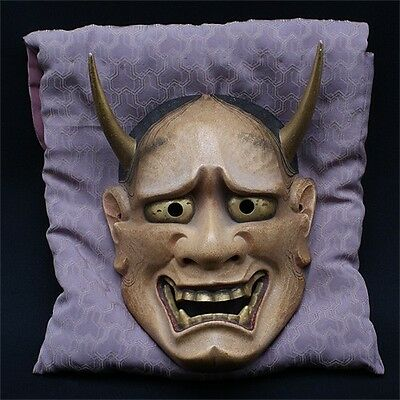 Noh Mask Japanese Hannya Nogaku New