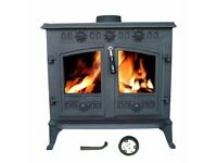 Multi Fuel Log Burner, Model- Foxhunter 006