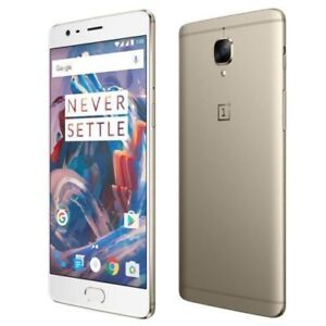 Like new - One Plus 3 - white/gold