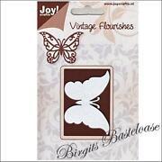 Stanzschablone Schmetterling