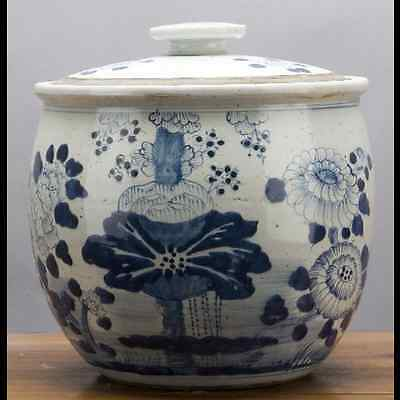 Chinese oriental porcelain GINGER JAR 12