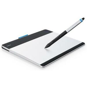 Wacom Intuos Pen & Touch (Small) - Digitizer Tablet for Drawing/Graphic Design - USB - Black & Silver - CTH480, CTH-480