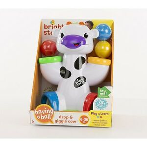 NEW: Bright Starts - Having a Ball Drop & Giggle Cow