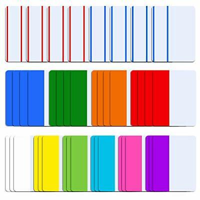 SIQUK 840 Pieces Tabs 2 inch Sticky Tabs Index Tabs Page Markers Colored Page...