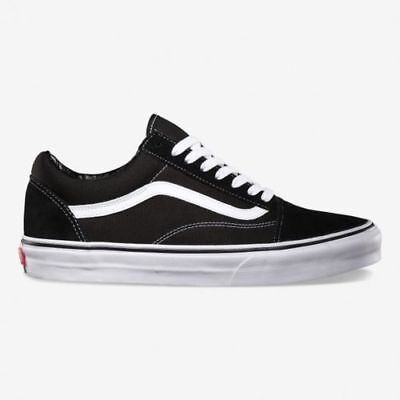 Vans Old Skool Skate Shoes Black/White unisex sizes Men Women Traniners