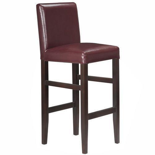 Red Leather Bar Stool eBay : 3 from www.ebay.com size 500 x 500 jpeg 13kB