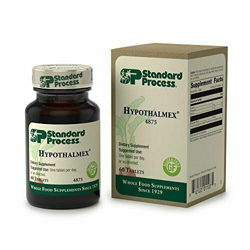 Standard Process | Hypothalmex | 60 Tablets EPX 04-15-21