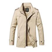 Mens Spring Coat