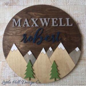 Custom Wooden Signs, Word Decor