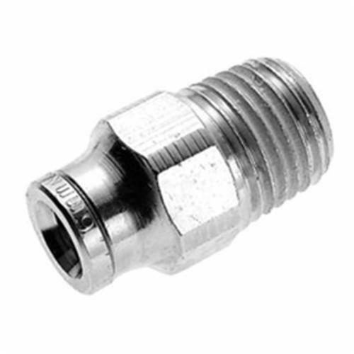 """IMI NORGREN 124250418 PNEUFIT PUSH-IN FITTING 1/4"""" Tube to 1/8"""" MNPT Choose Qty."""