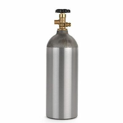 5lb Co2 Aluminum Tank For Draft Beer Homebrew Soda Welding And Aquarium Use