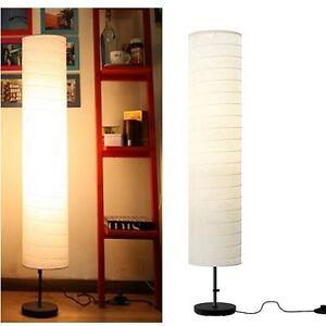 floor lamp modern white soft mood light rice paper lamp lighting ikea. Black Bedroom Furniture Sets. Home Design Ideas