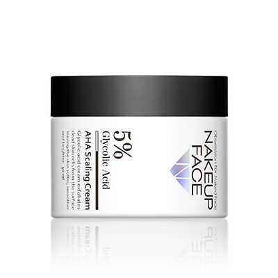 [NAKEUP FACE] 5% Glycolic Acid AHA Scaling Cream 50ml